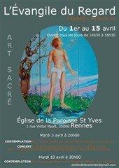 L'Evangile du Regard :exposition de peinture de l'art sacré à l'église Saint Yves dans Cau AGC_2742610_1_px_170_