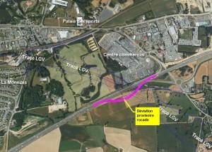 Deviation rocade Rennaise pour tgv dans Rennes deviation120912f-300x215